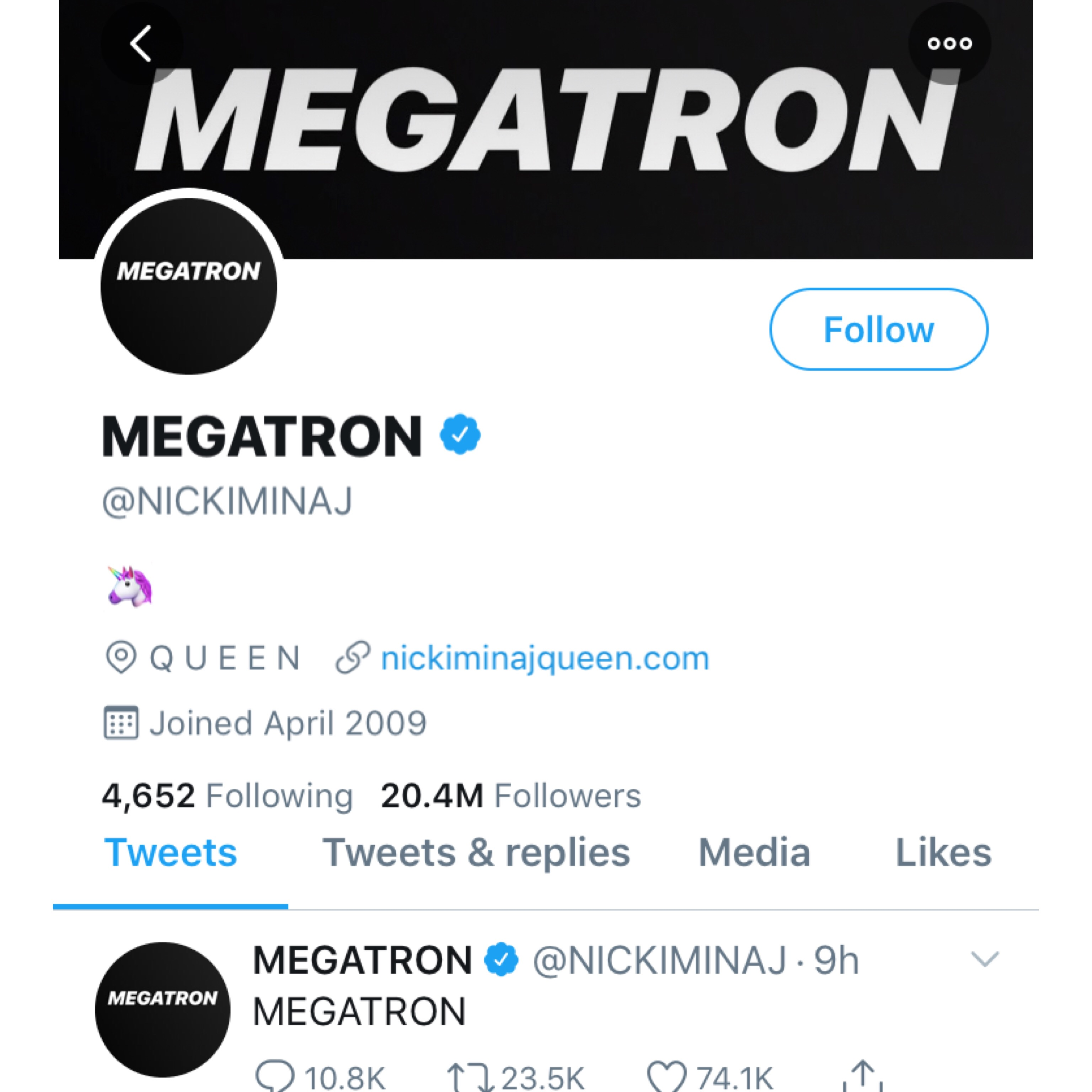 The Barbz Are Trying To Decode Nicki Minaj's Cryptic 'Megatron' Posts