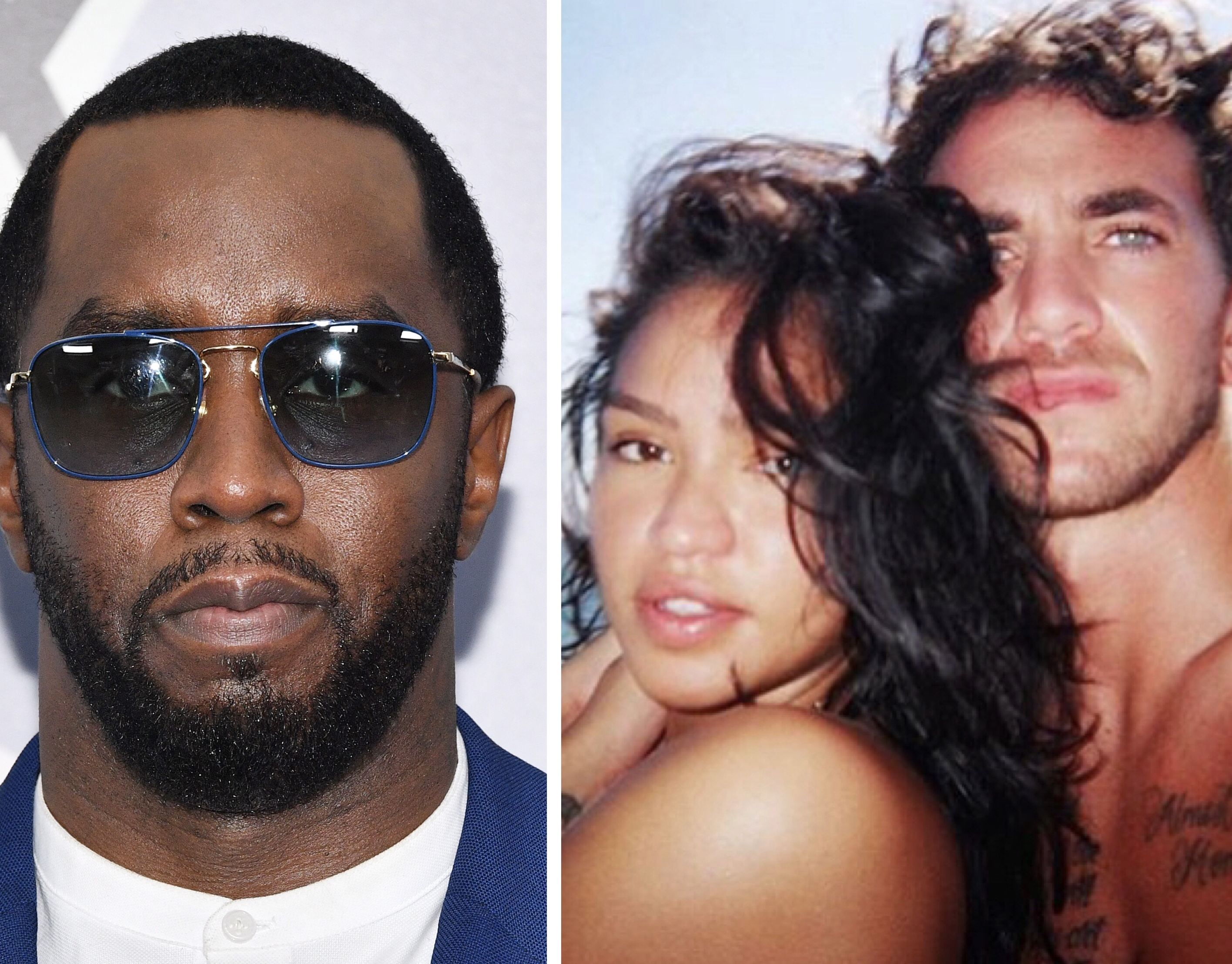 Diddy Congratulates Cassie And Alex Fine On Their Bun In The Oven!