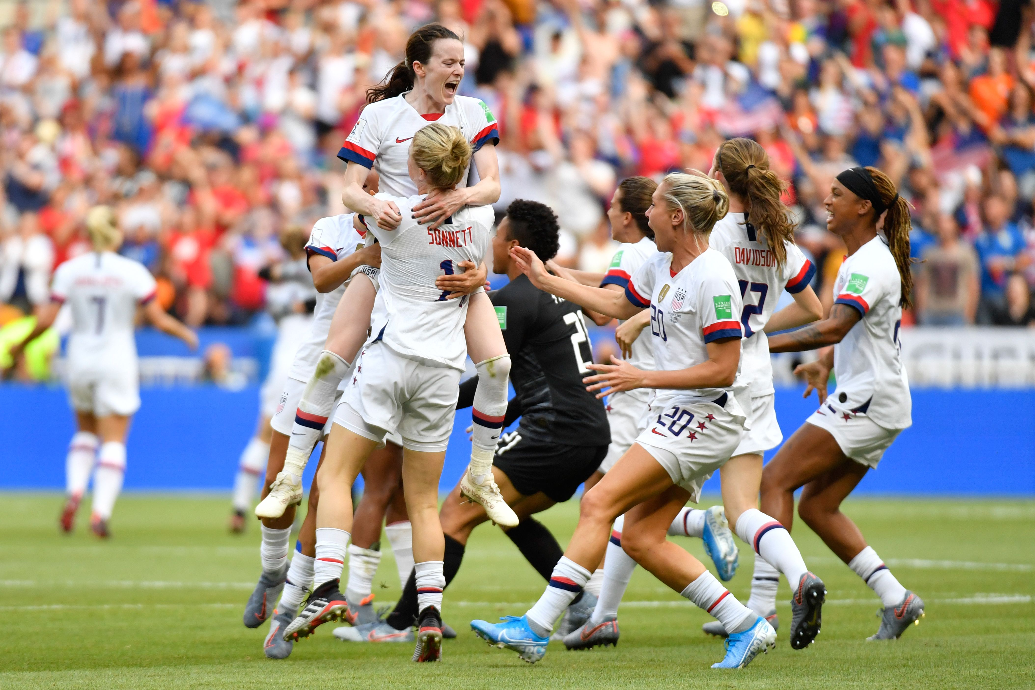 #TSRSports: The U.S. Women's National Soccer Team Wins The 2019 Women's World Cup!