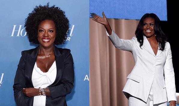 Viola Davis to play Michelle Obama in new drama series