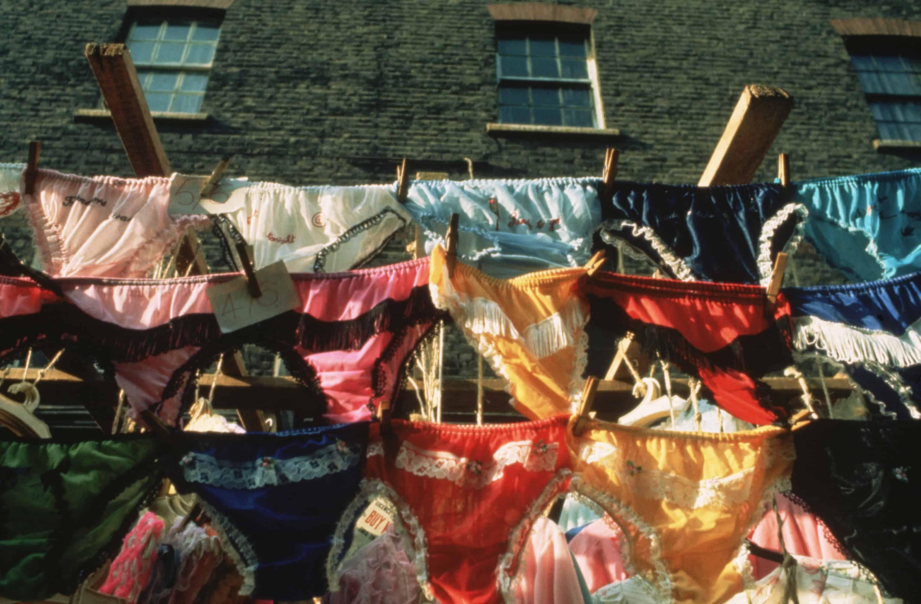 Pairs of underwear.