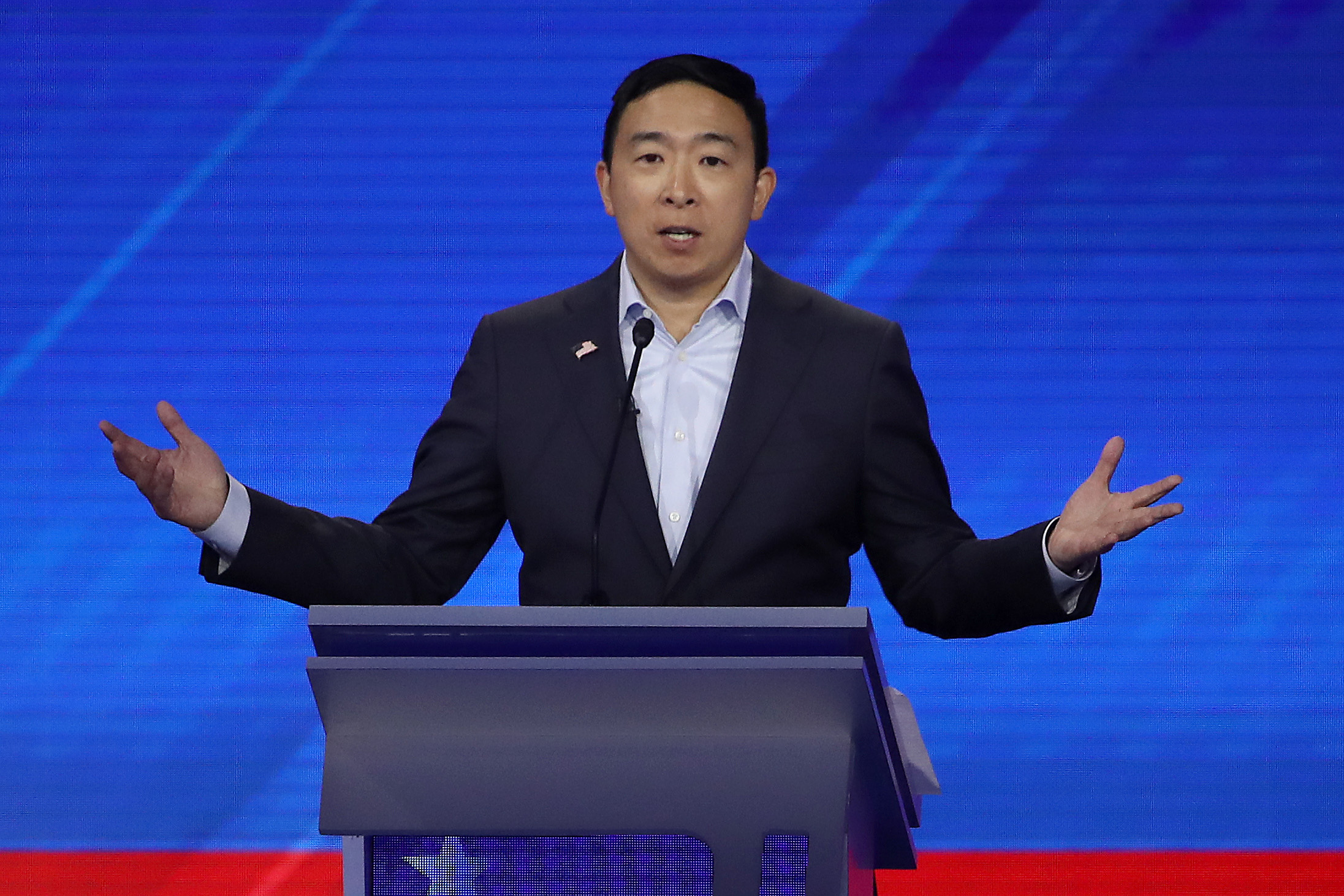 Andrew Yang Promises $1K To Americans