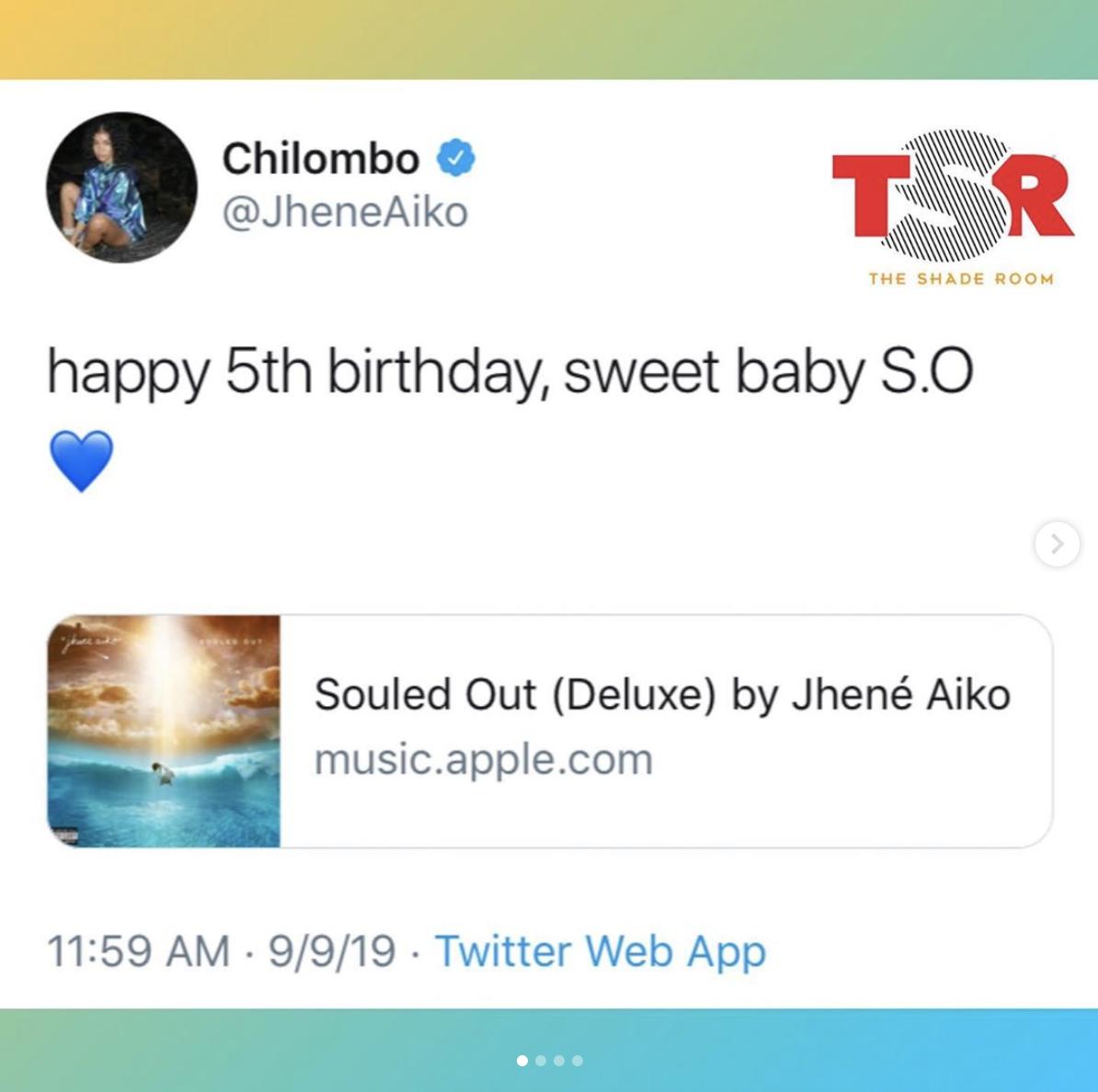 Jhene Aiko celebrates the 5-year-anniversary of her debut studio album SouledOut