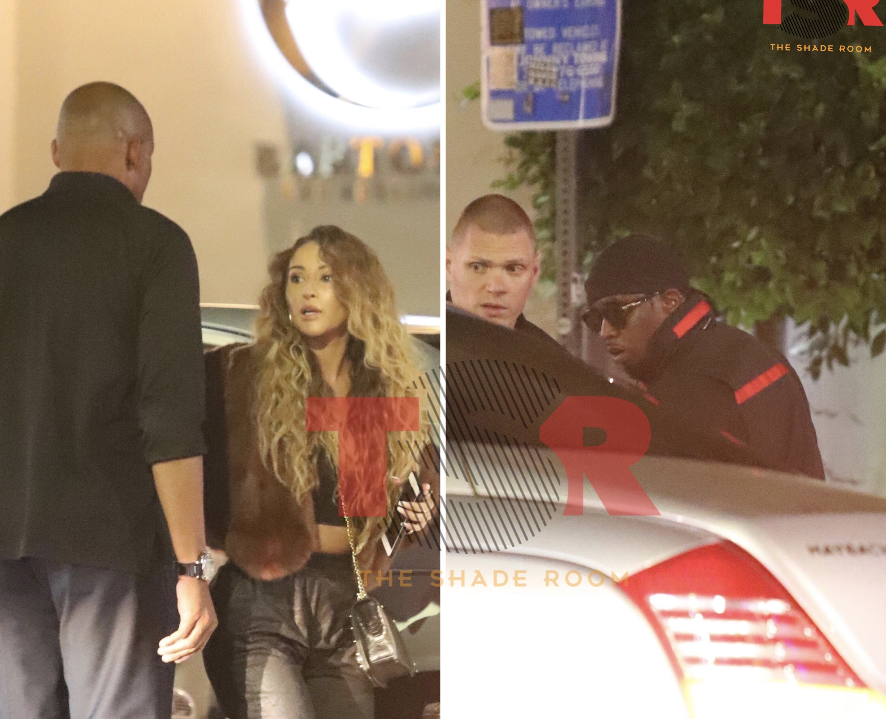 Diddy spotted out with mystery woman