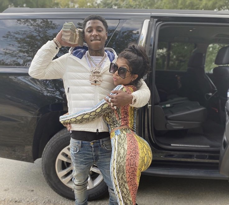 NBA YoungBoy was seen kicking it with Kodak Black's ex-girlfriend on social media, causing people to wonder if she is his new girlfriend.