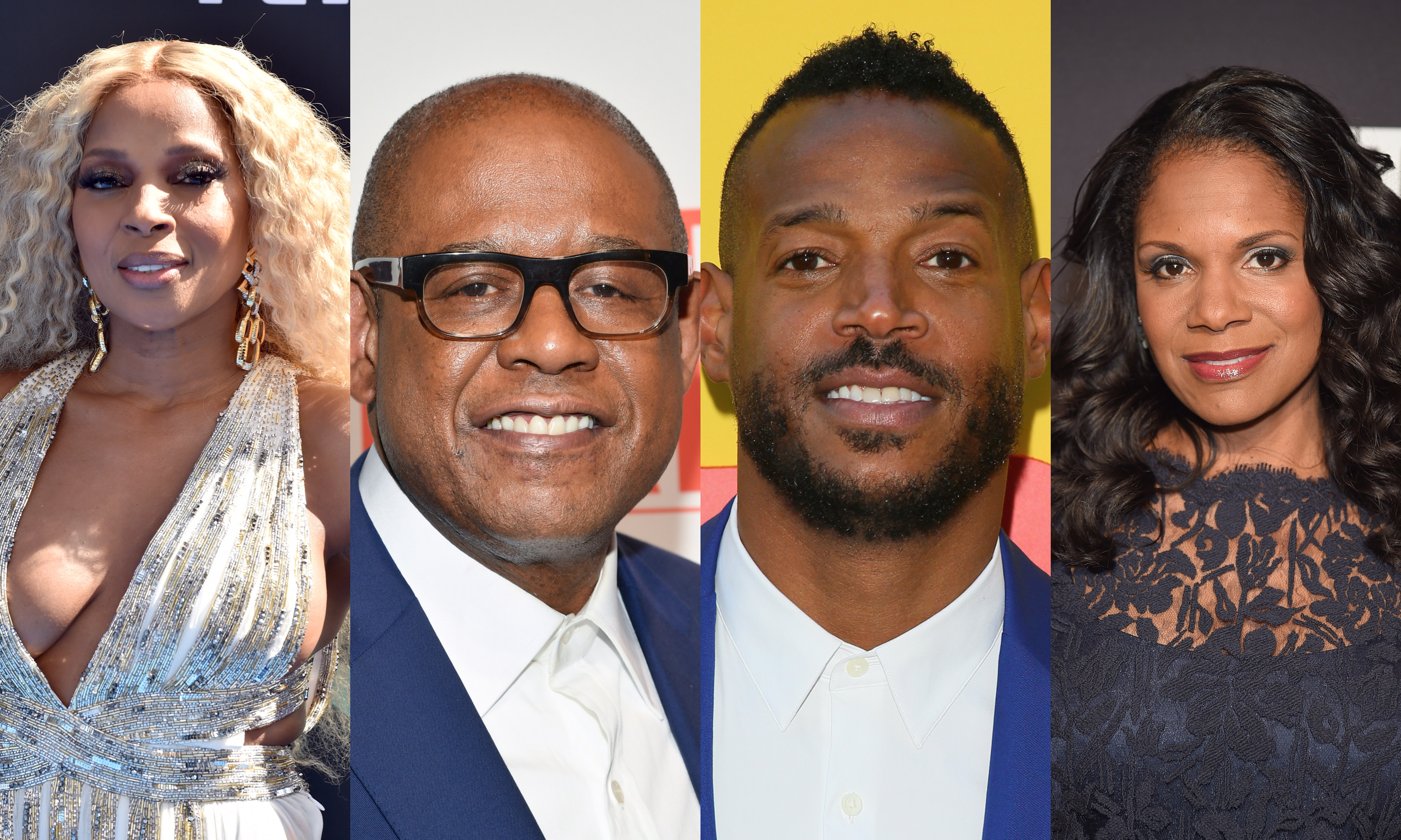 Mary J. Blige, Forest Whitaker, Marlon Wayans and Audra McDonald are among the cast members for the Aretha Franklin biopic starring Jennifer Hudson.
