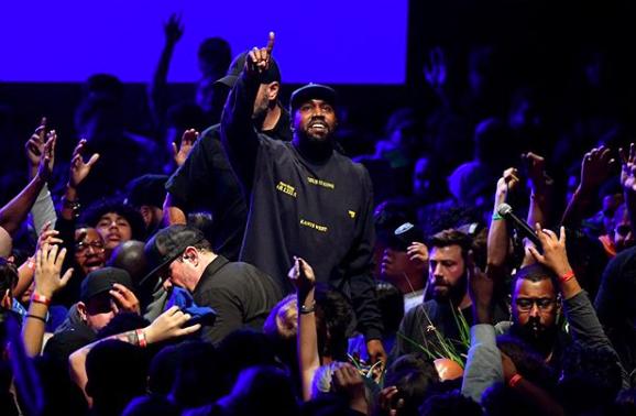 Kanye West at Sunday Service