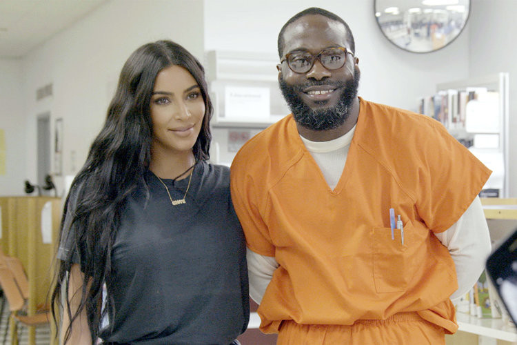 Inmate released from jail after 23 years Kim Kardashian