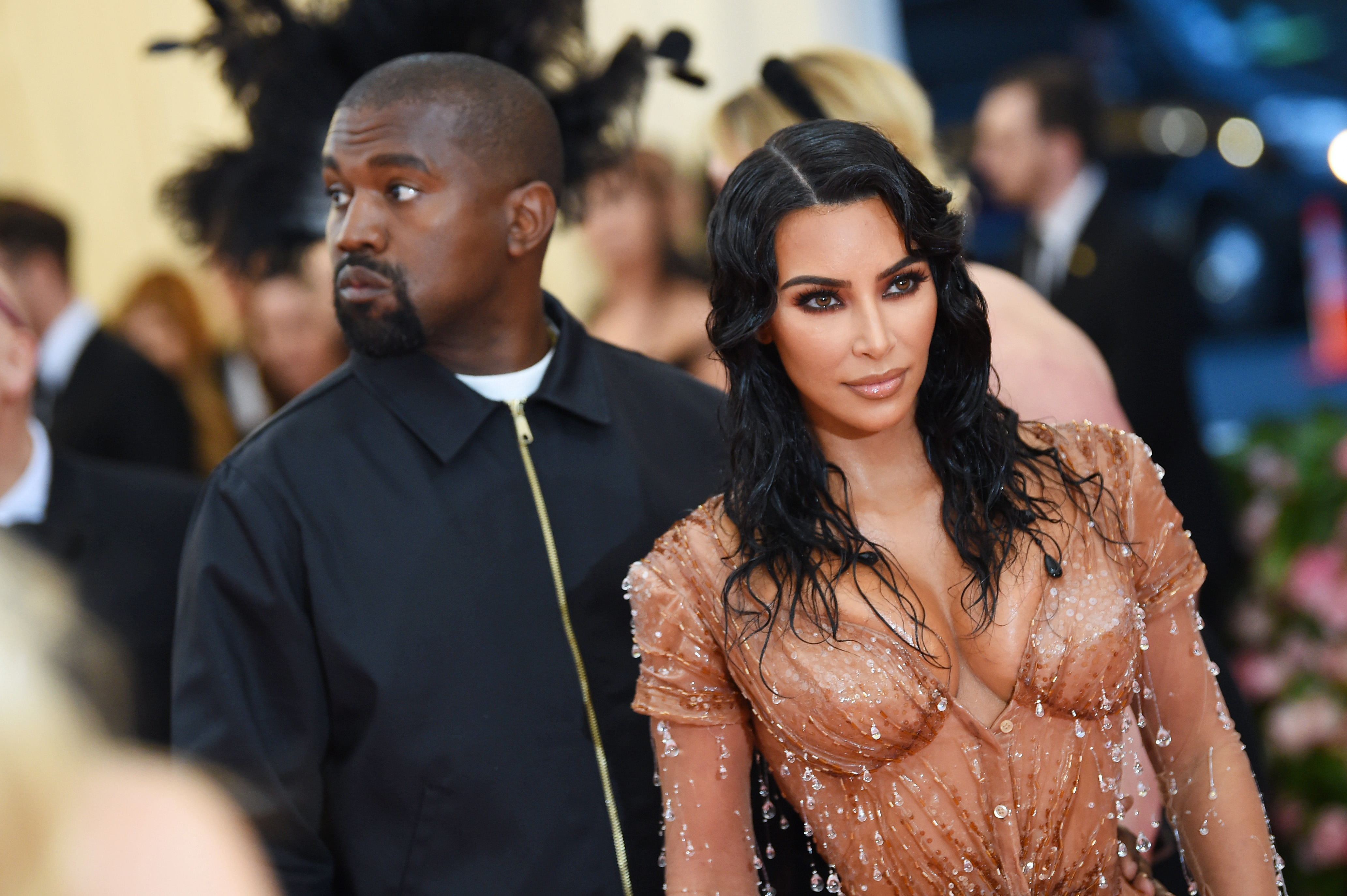 """Kim Kardashian shared a preview of the music video for Kanye West's song """"Follow God,"""" which is on his new album """"Jesus is King."""""""