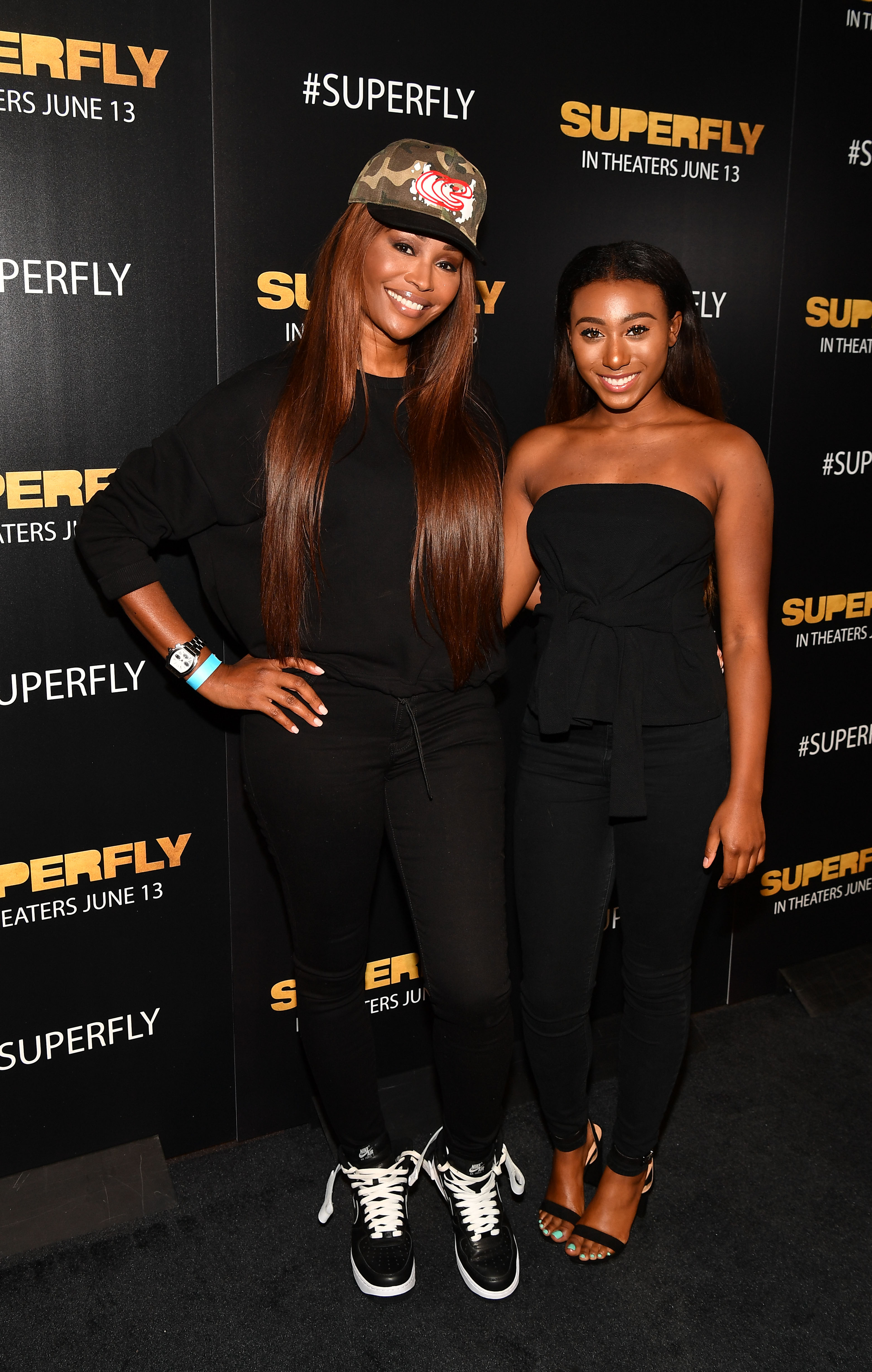 During an episode of Real Housewives of Atlanta, Cynthia Bailey's daughter Noelle revealed to her that she is sexually fluid.