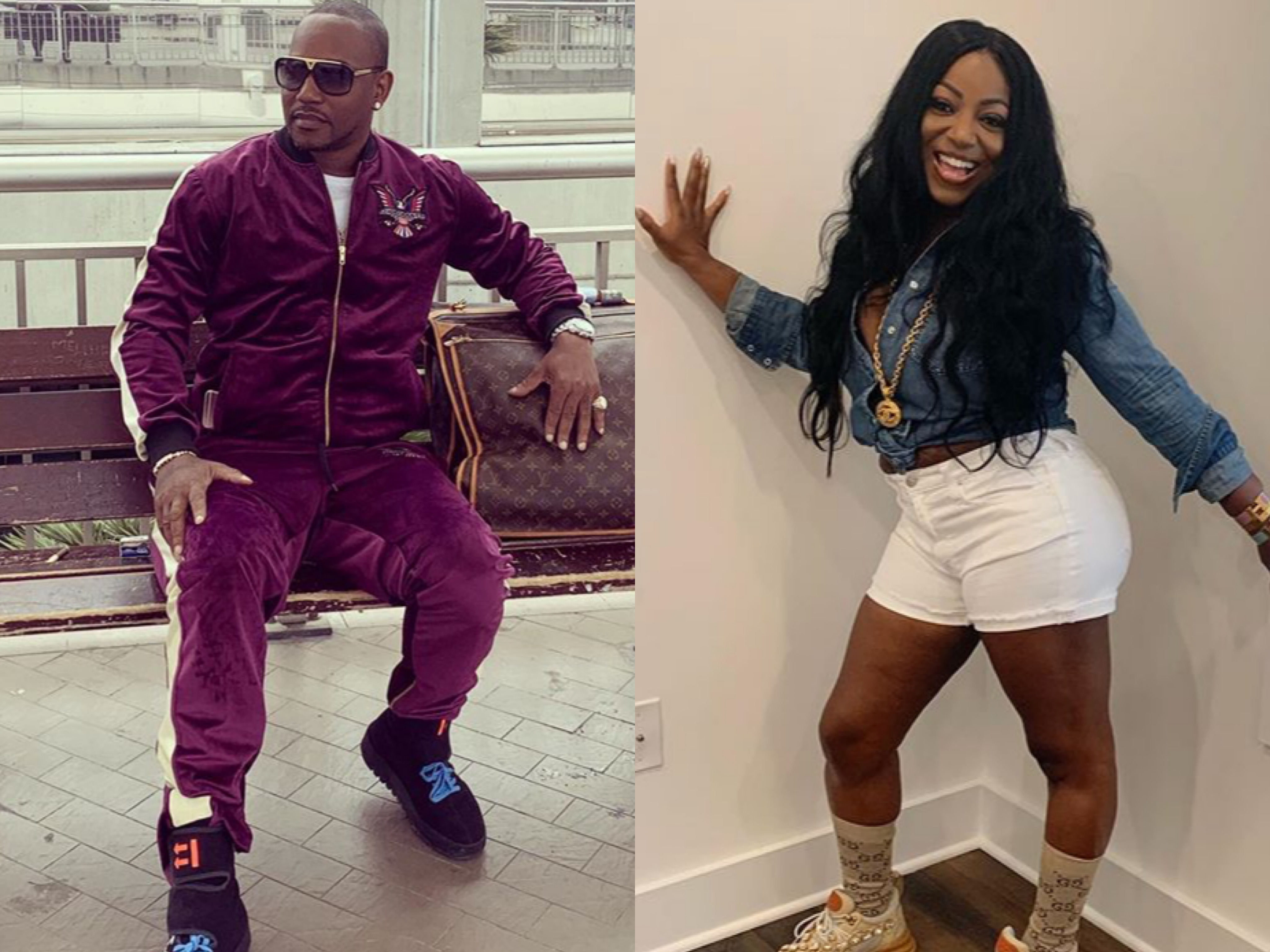 Image result for images of Rapper Cam'ron longtime girlfriend Tawasa Harris passed away