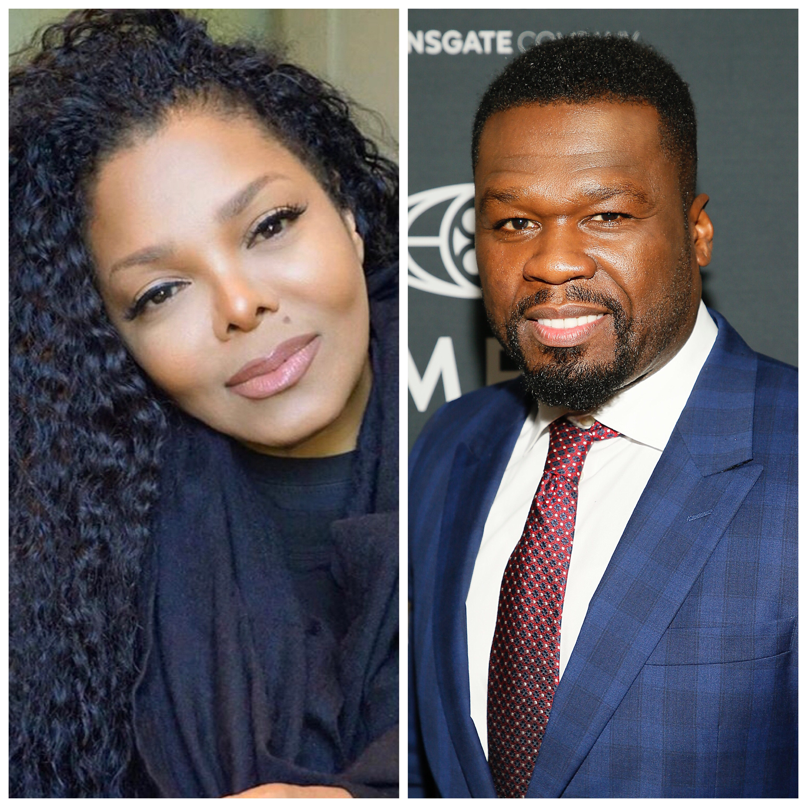 Fans think Janet Jackson shaded 50 Cent