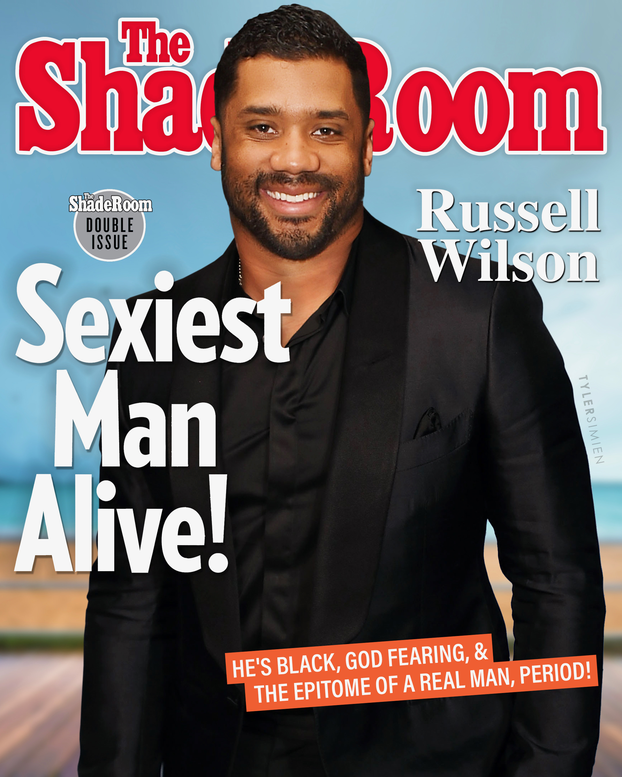 Russell Wilson is the shade room's sexiest man
