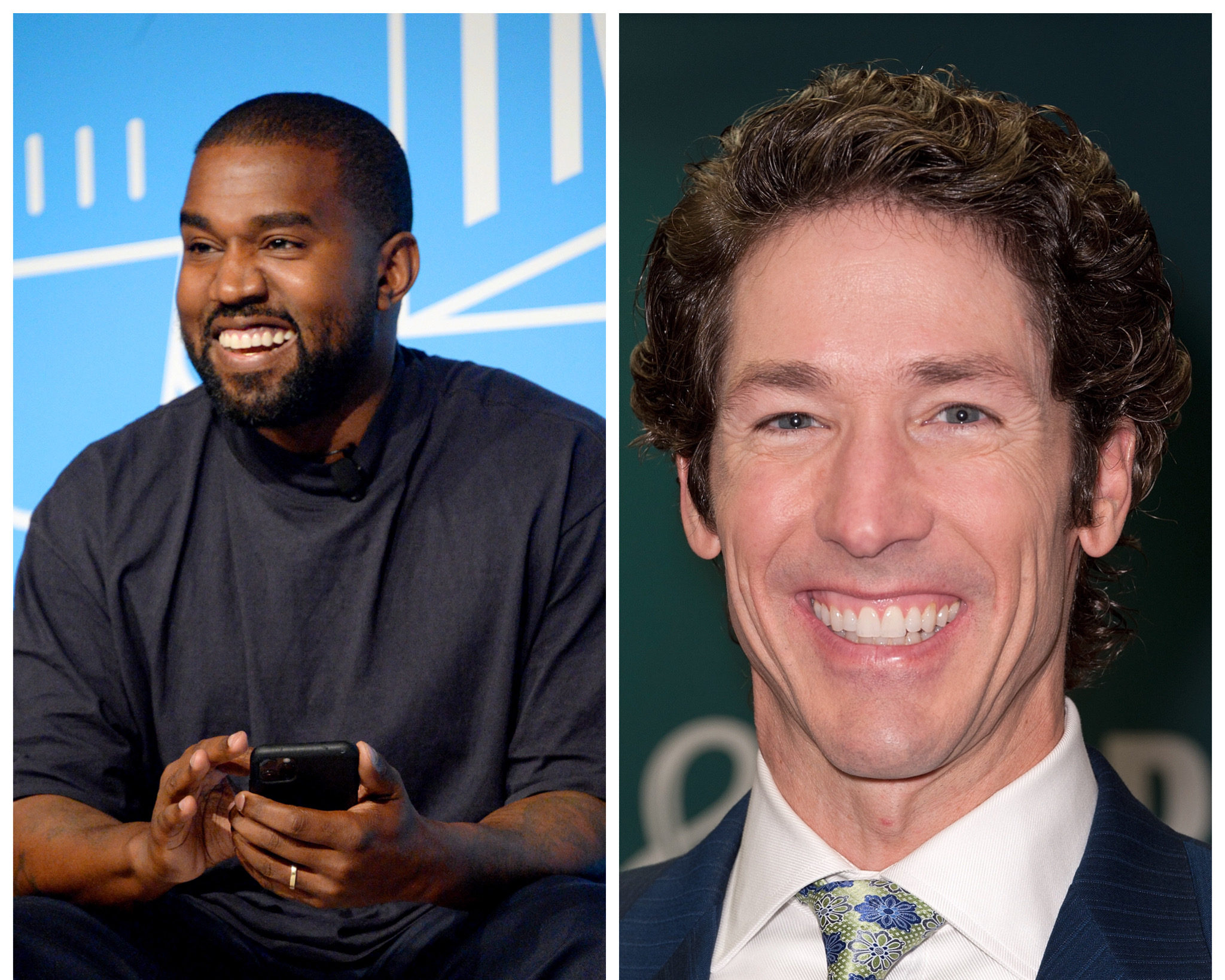 Kanye west reportedly set to take his Sunday service to yankee stadium with joel osteen