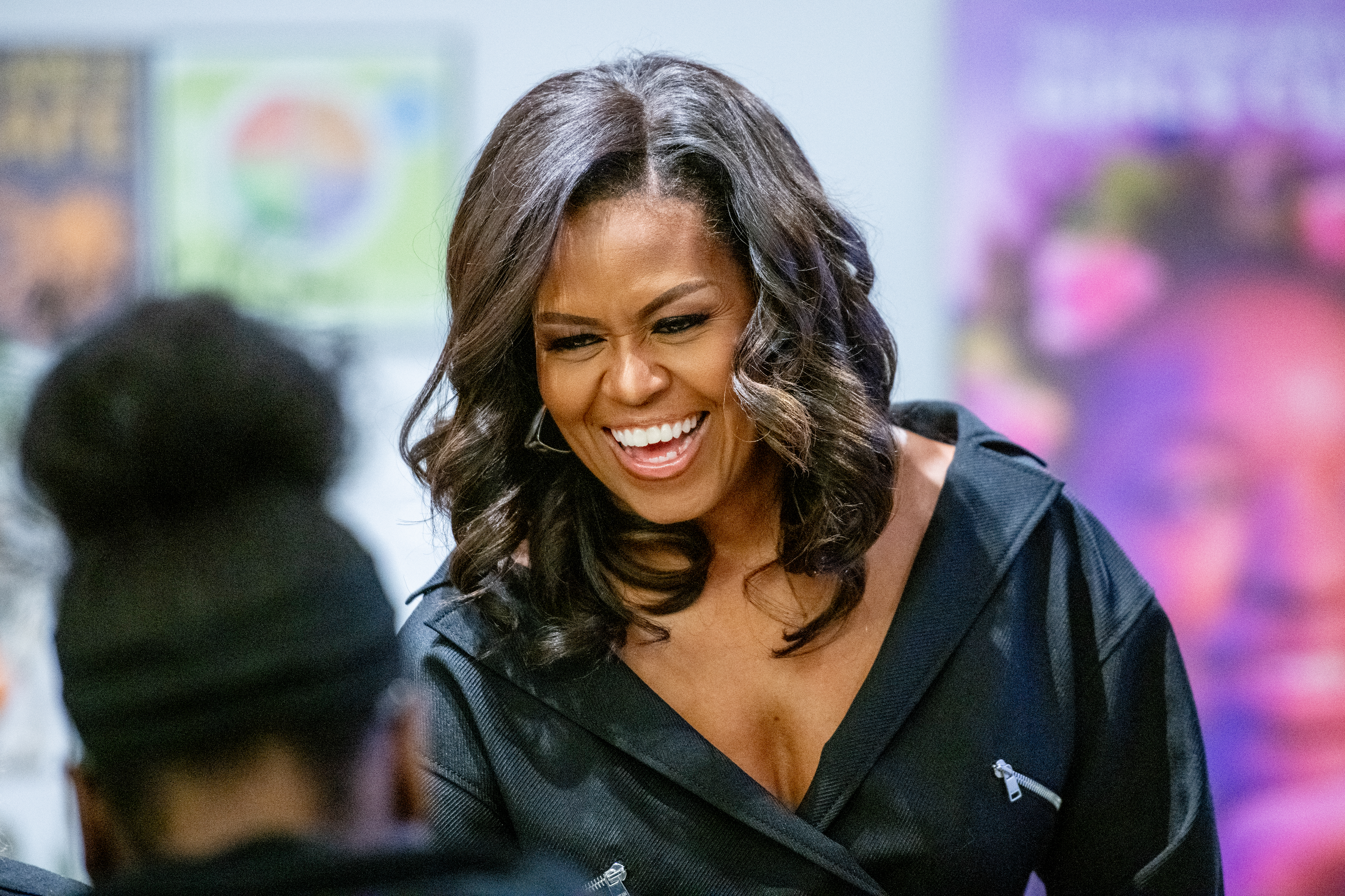 Michelle Obama launches a new Instagram TV series that follows four college students as they share the highs and lows of their first year of college.