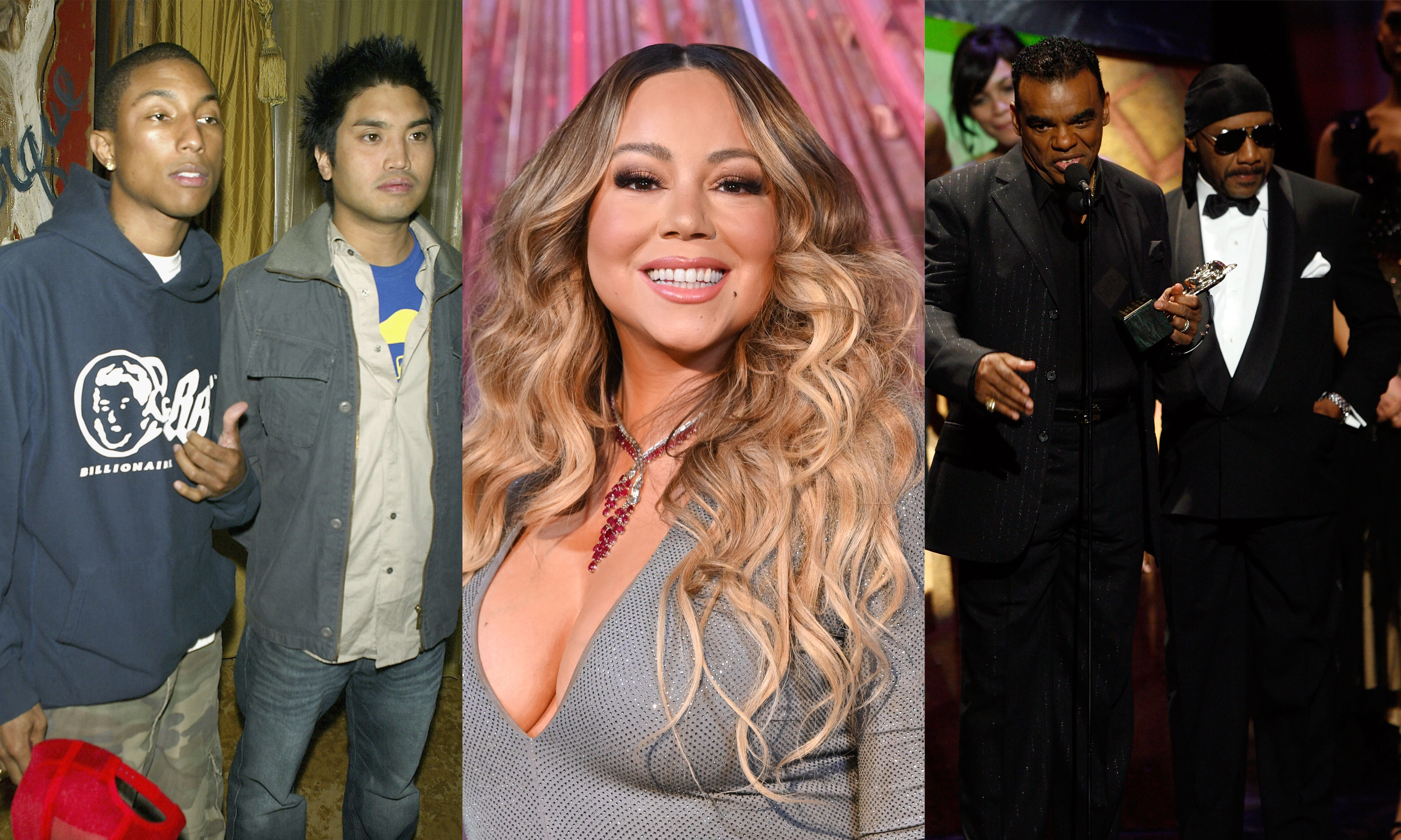 Mariah Carey, The Neptunes, The Isley Brothers have been announced for the 2020 Songwriters Hall of Fame, which goes down in June.