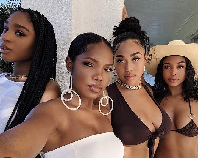 Lori Harvey, Ryan Destiny, Normani And Jordyn Woods