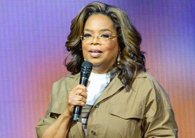 Oprah on Stage