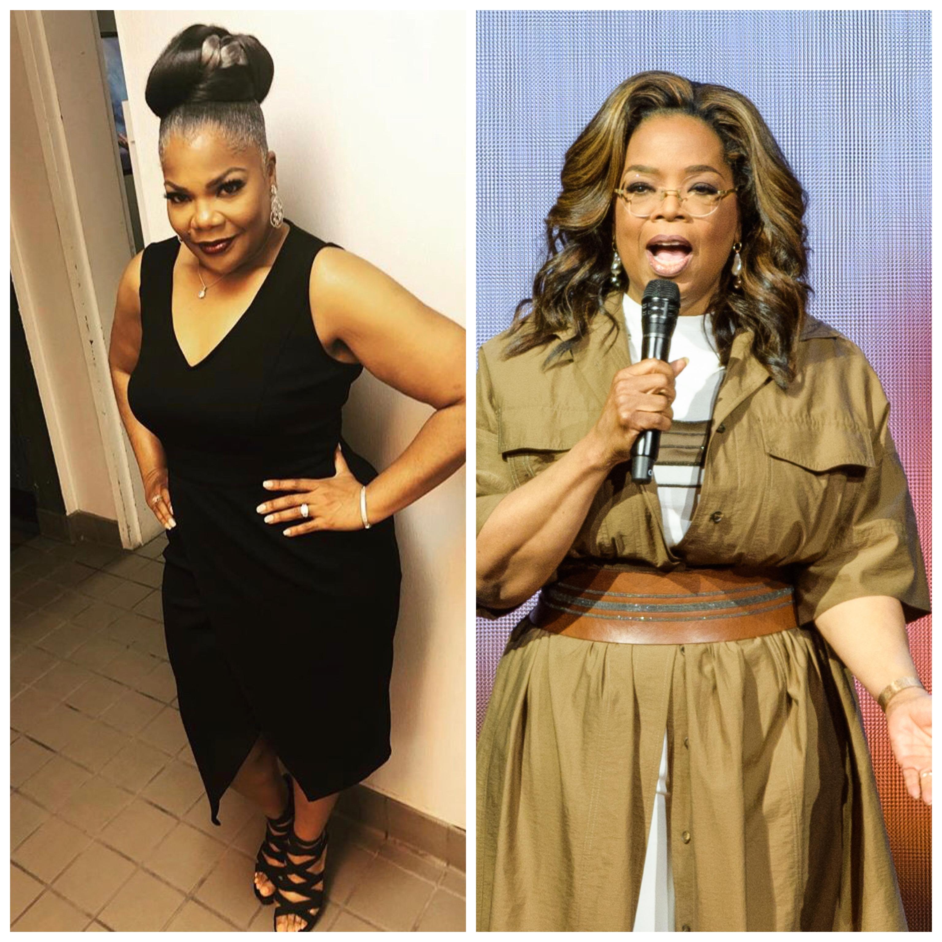Mo'Nique and Oprah