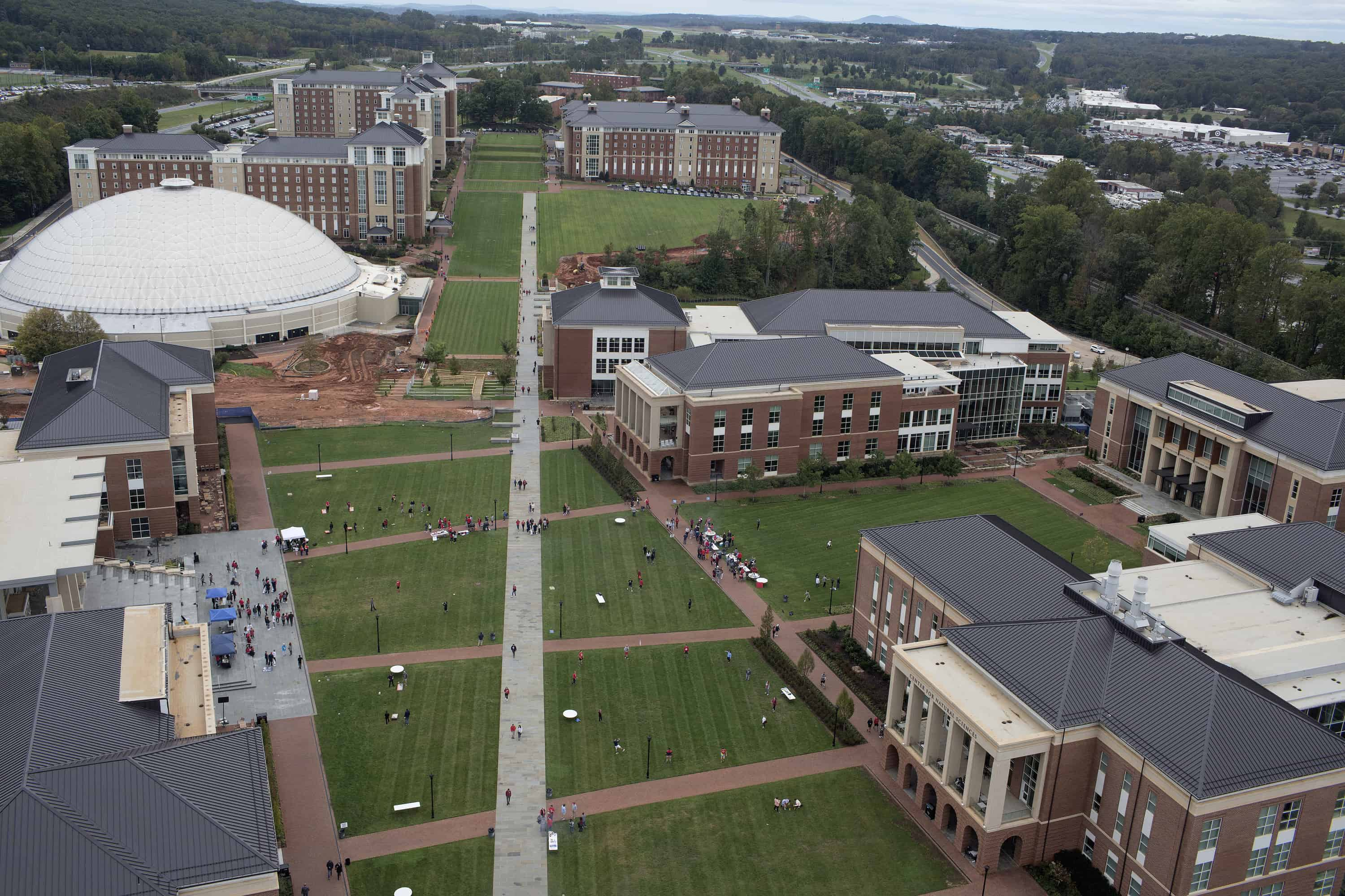 Liberty University has welcomed its students back to campus following spring break. While most studnets have remained home due to the coronavirus.