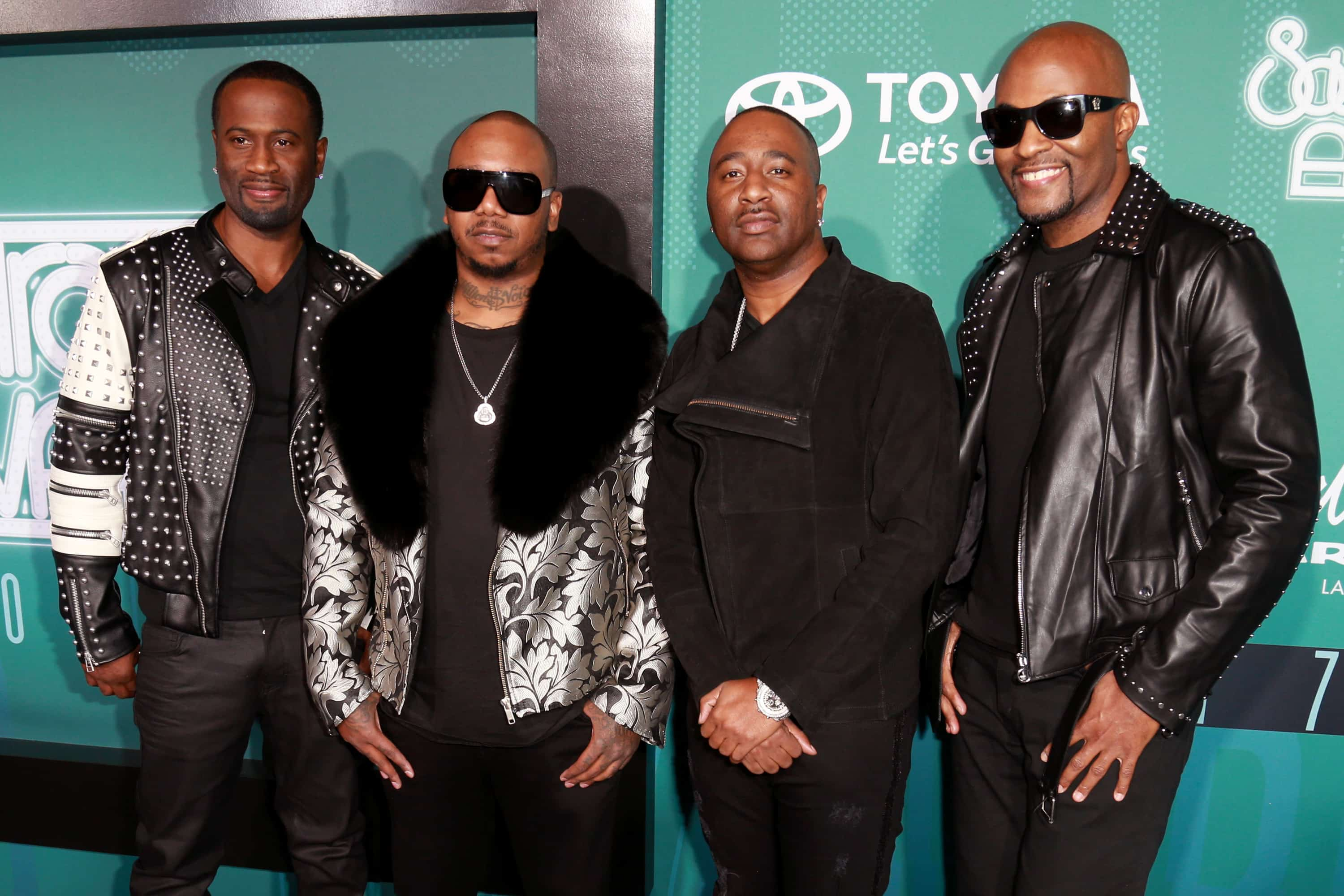 """Former 112 members Daron and Q said they won't be participating in a Memorial Day """"Versus"""" battle against Jagged Edge due to a legal issue."""