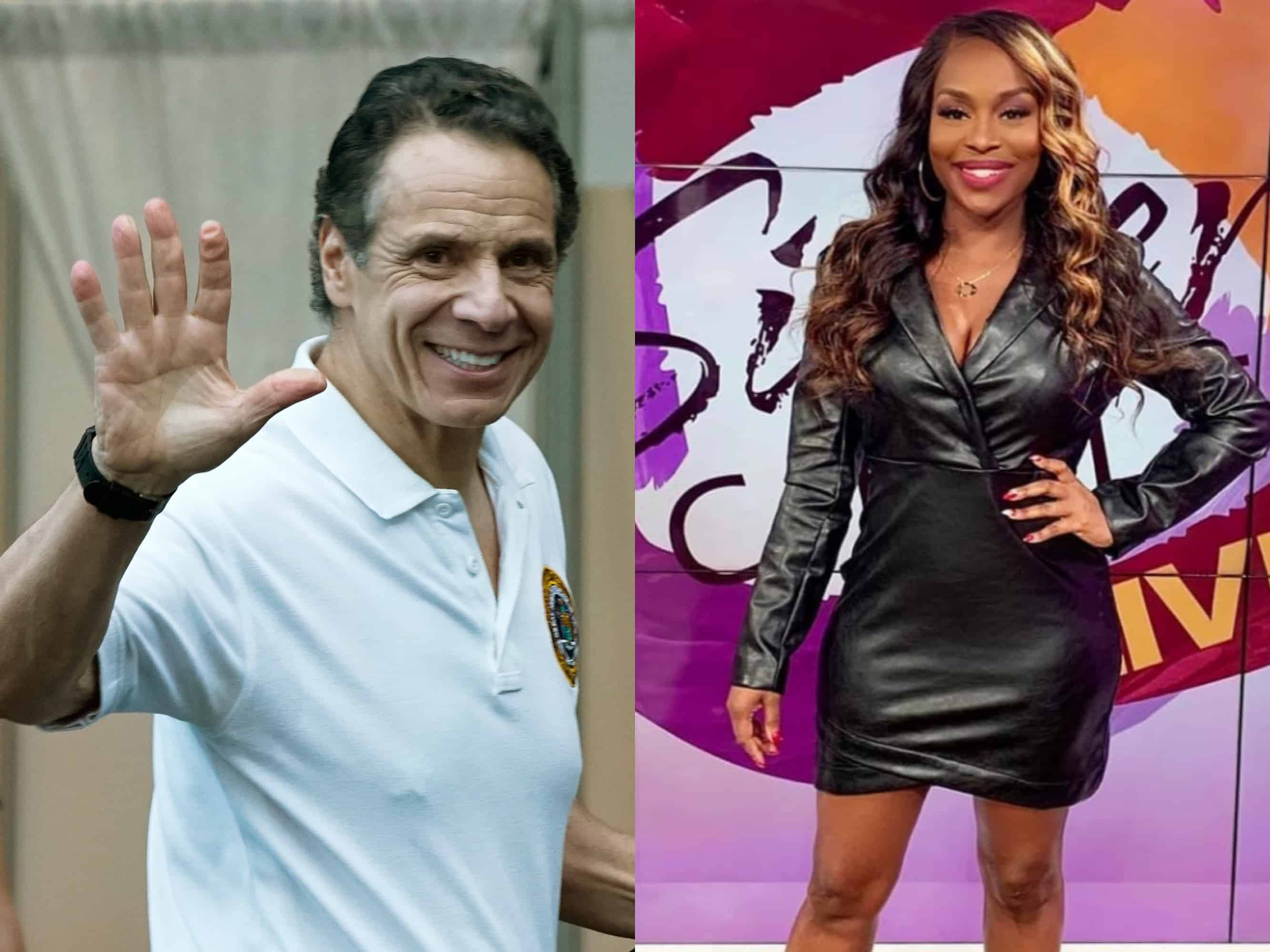 Quad Webb made a video and posted on social media to let Governor Andrew Cuomo that she has admired his work and that she's interested in him.