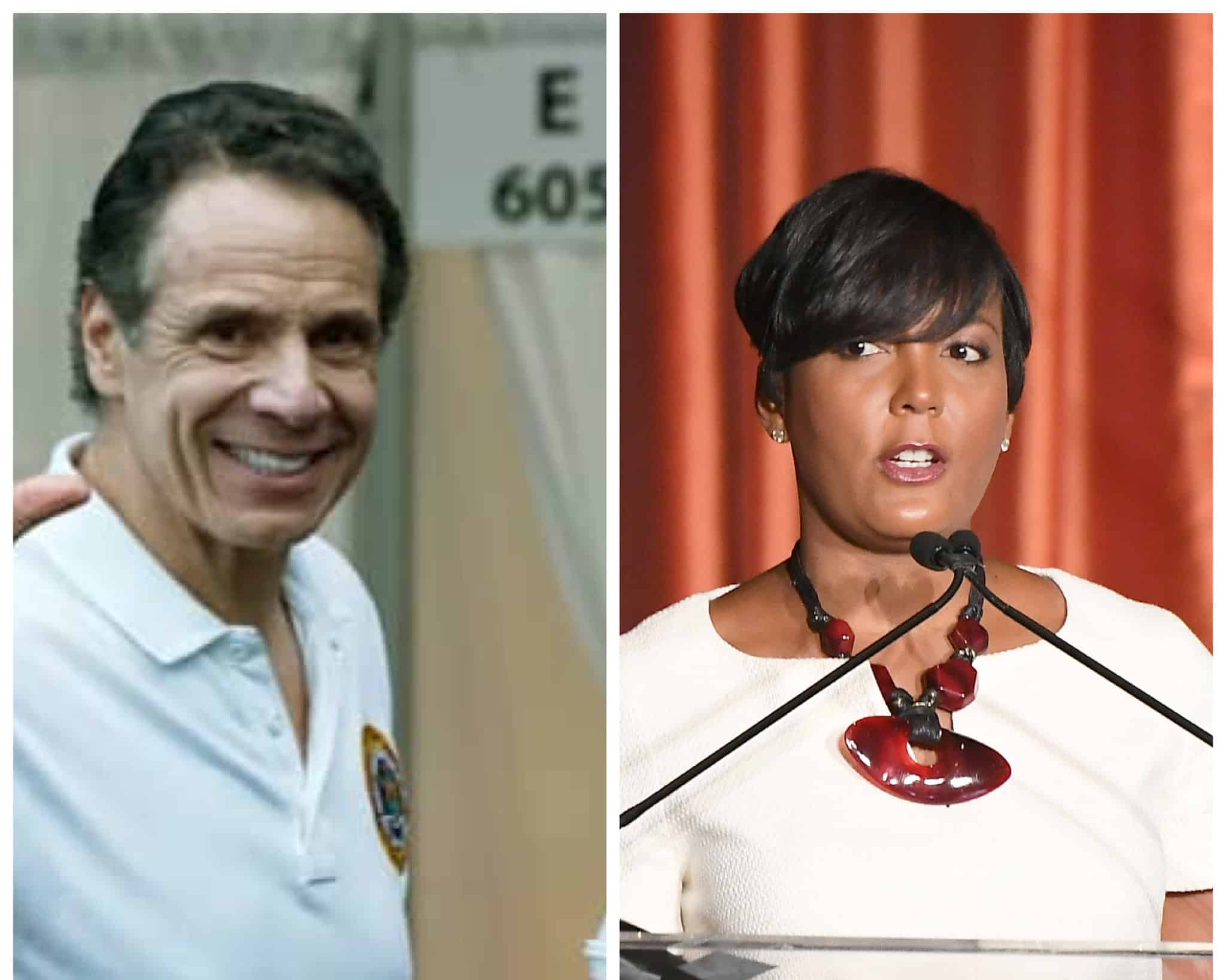 New York Governor Andrew Cuomo Publicly Offers Support To Mayor Keisha Lance Bottoms & The City Of Atlanta In Response To COVID-19 - The Shade Room