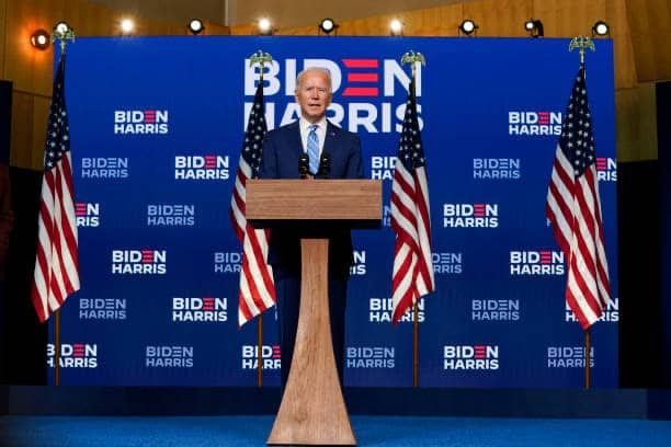 "Joe Biden Speaks On Pending Presidential Election Results-""It's Clear That We're Winning Enough States To Reach 270 Electoral Votes"" (Video)"