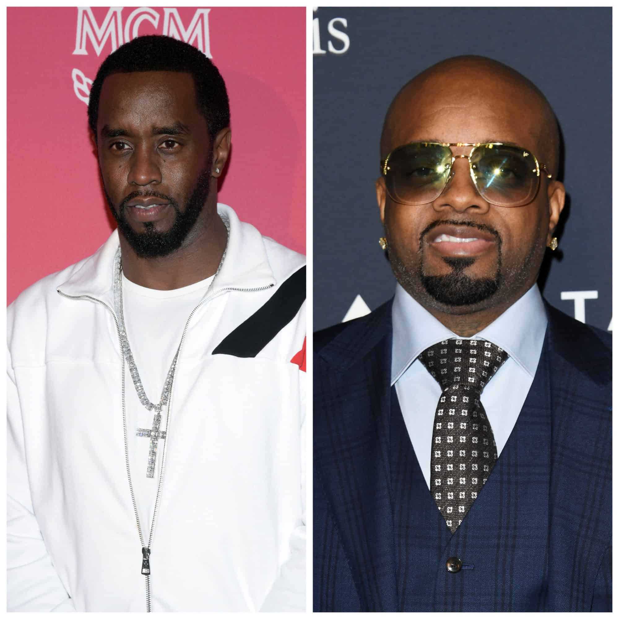 Producers Diddy and Jermaine Dupri battle
