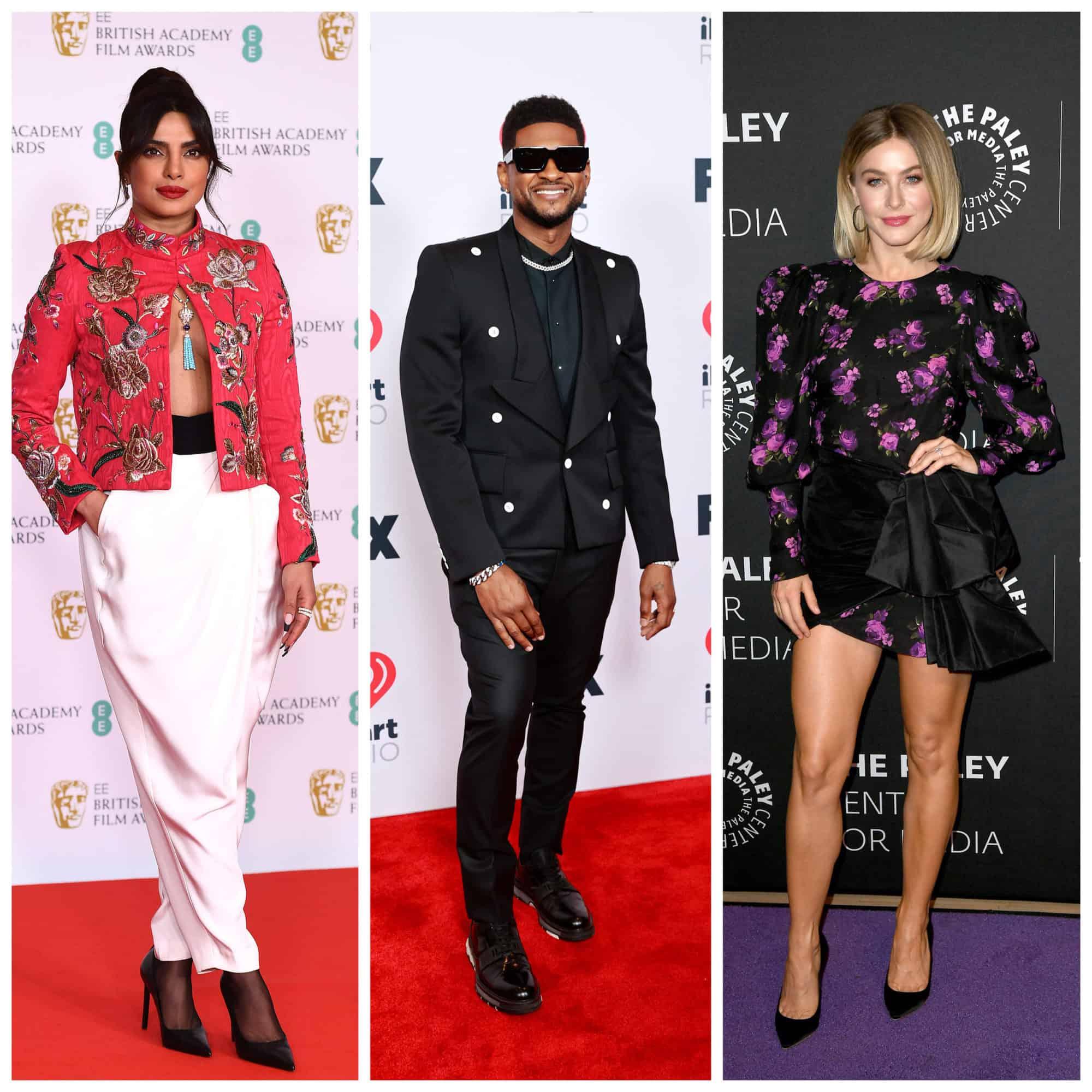 "Priyanka Chopra, Usher, Julianne Hough for ""The Activist"""