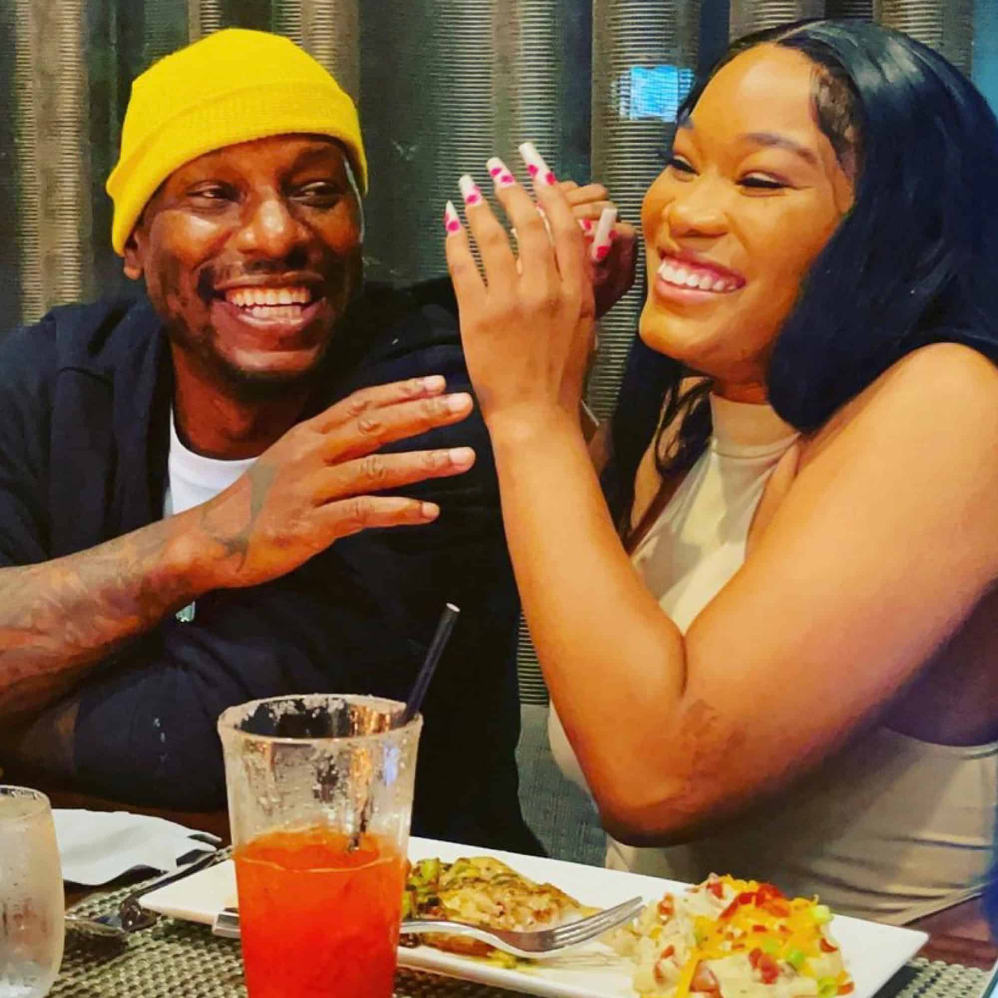 Tyrese took to social media to share the special date night that his girlfriend Zelie Timothy surprised him with.
