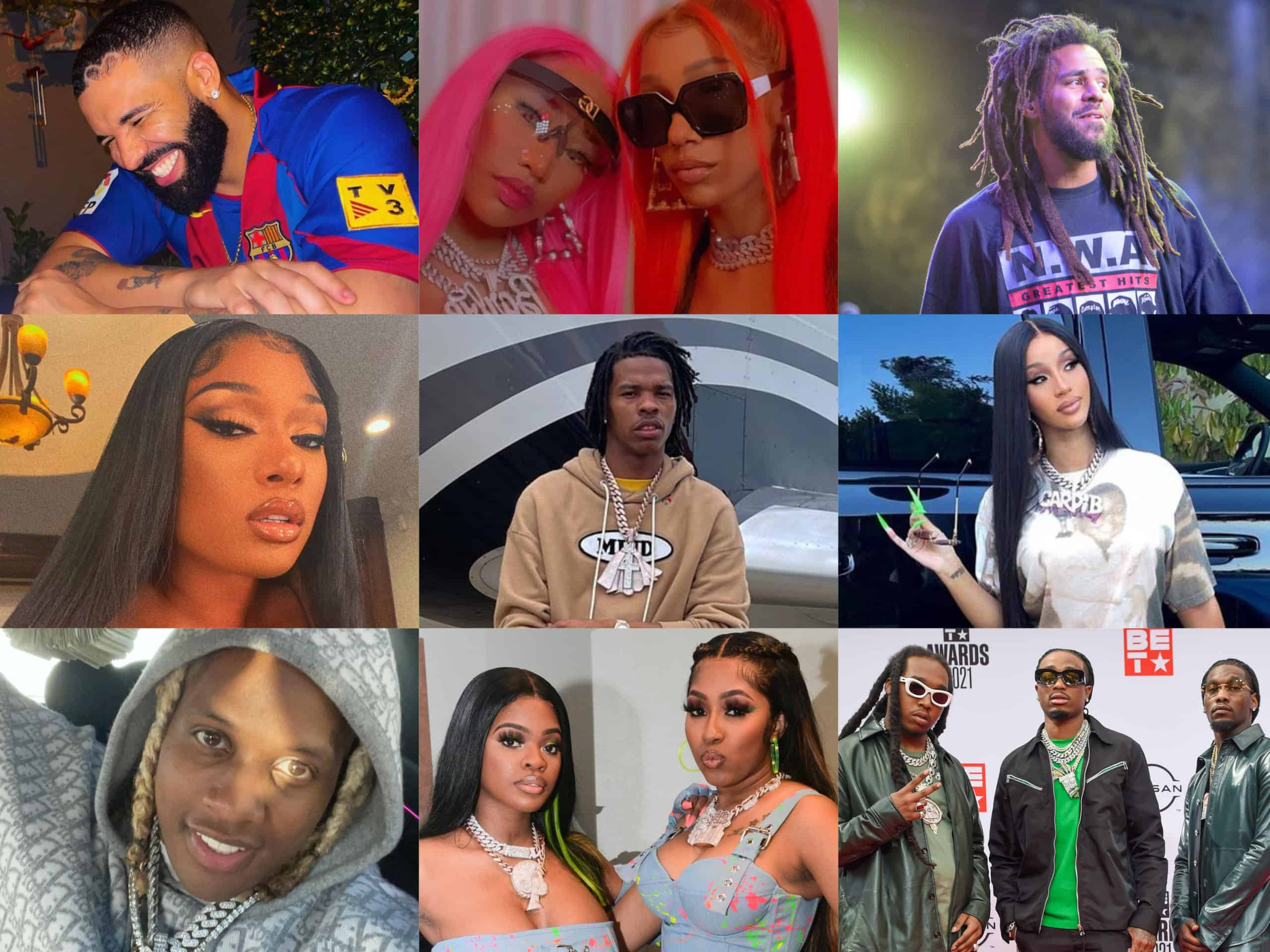 The nominees for the 2021 BET Hip-Hop Awards were released on Thursday, highlighting artists that have been killing it all year long.