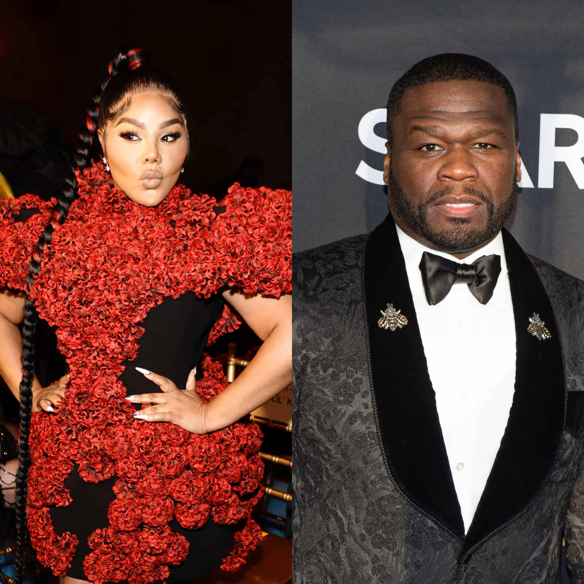 Lil Kim claps back at 50 Cent after he shares a video that compares her to a leprechaun and laughs about it.