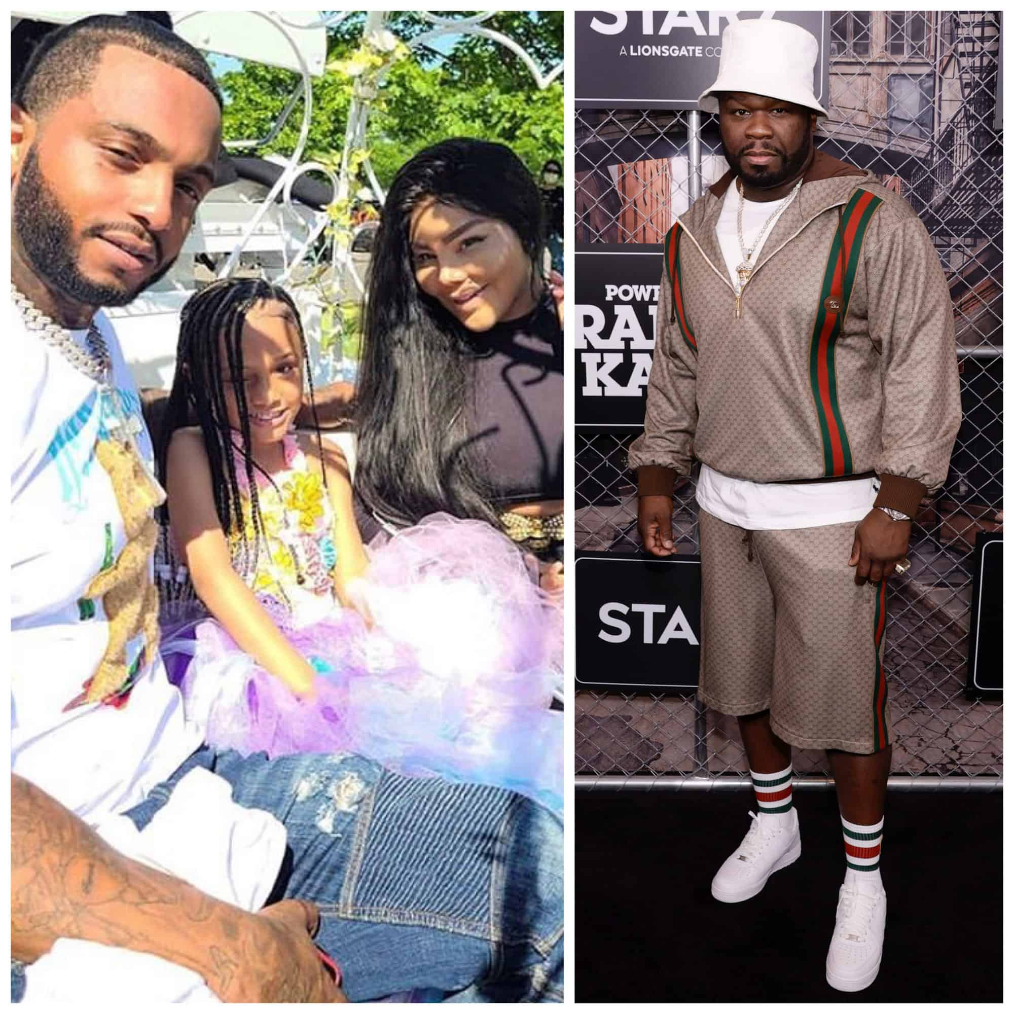 50 Cent-Lil' Kim's man Mr. Papers defends her from 50 Cent.
